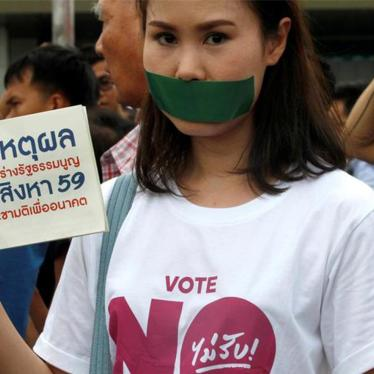 Thailand: Rights Crisis Deepens Under Dictatorship