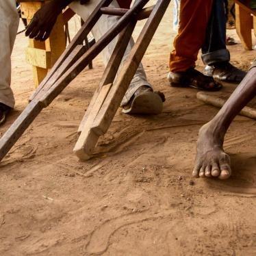 République centrafricaine : Les personnes handicapées exposées à de graves dangers