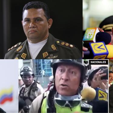 Venezuela: Senior Officials' Responsibility for Abuses