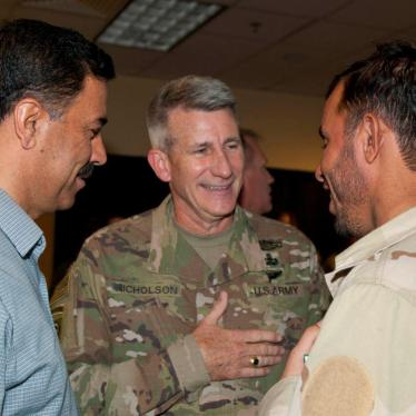 US General's Photo Op with Accused Torturer in Afghanistan