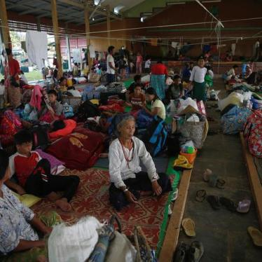 Burma: Warnings Not a Free Pass to Harm Civilians