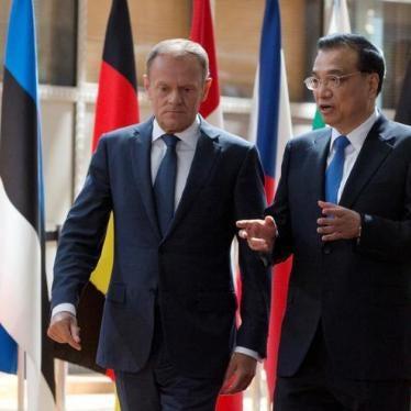 欧盟:应暂停与中国人权对话