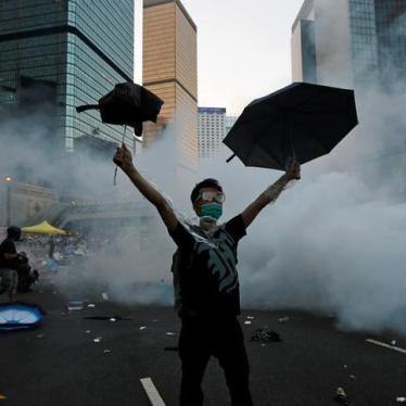 Hong Kong: Chief Executive Should Defend Autonomy