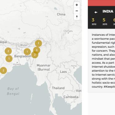 India: 20 Internet Shutdowns in 2017