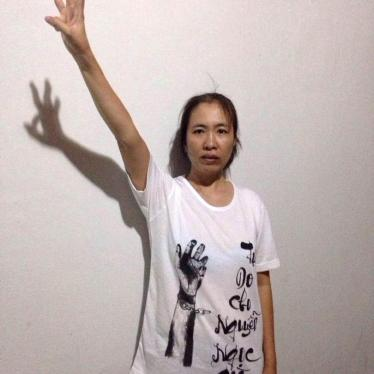 "Vietnam: Free Blogger ""Mother Mushroom"""