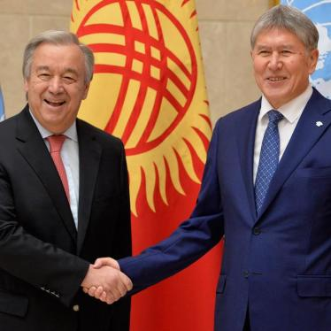 UN Secretary-General Fails to Speak Up for Rights in Central Asia