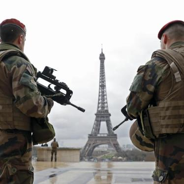 France: Don't 'Normalize' Emergency Powers
