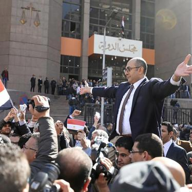 Egypt: Intensifying Repression of Basic Freedoms