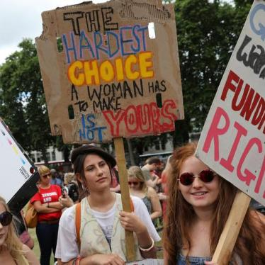 UK's U-Turn On Abortion for Northern Ireland's Women