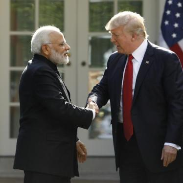 Together, Trump and Modi Skip Human Rights