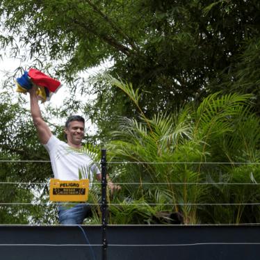 Leopoldo López is home. But Venezuela is not Free.