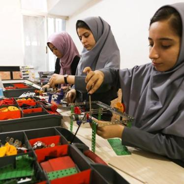 Victory For Afghan Girls Robotics Team: HRW Daily Brief
