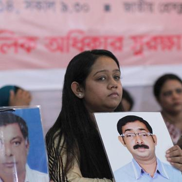 Bangladesh: End Disappearances and Secret Detentions