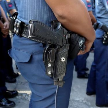 Abusive Philippine Cops Get Kid Glove Treatment
