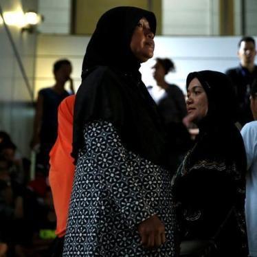 泰国:人口贩运案定罪是重大进步