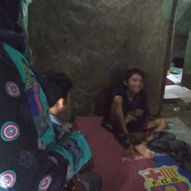 An Indonesian Childhood in Chains