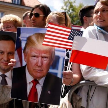 Trump Avoids Warsaw's Failure to Uphold 'Shared Values'