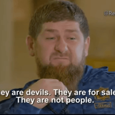 Don't Tolerate the Intolerable from Chechnya's Strongman Kadyrov