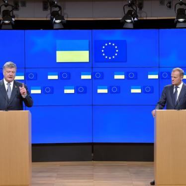 EU-Ukraine: Backtracking on Human Rights