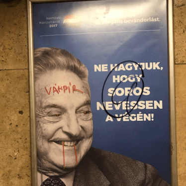 Hungarian Government Stoops to New Low with Hate Campaign