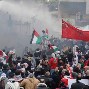 Lebanon: Police Violence at Protest on Jerusalem