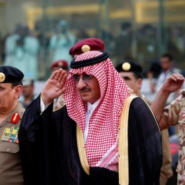 Saudi Arabia: Clarify Status of Ex-Crown Prince