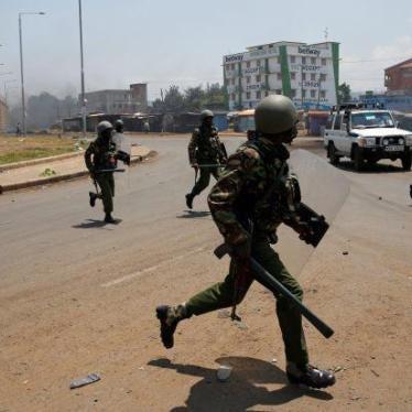 Kenya: Police Restraint Critical