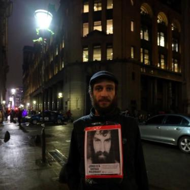Disappearance of Protestor in Argentina