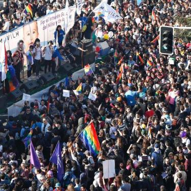 President Bachelet's Bill for Marriage Equality