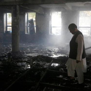 Afghanistan: Deadly Attack on Mosque a War Crime