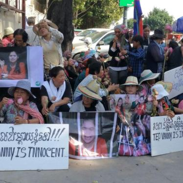 Cambodia: Quash Conviction of Rights Land Activist