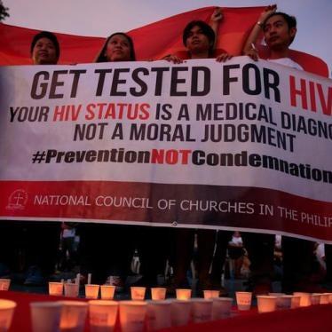 """菲律宾为艾滋疫情宣告""""国家紧急状态"""""""