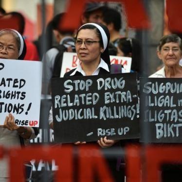菲律宾:杜特尔特威胁人权社群