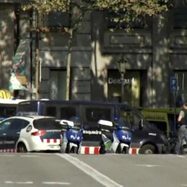 Spain: Attack in Barcelona