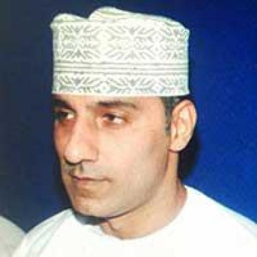 Oman: A Year On, Editor Remains in Prison