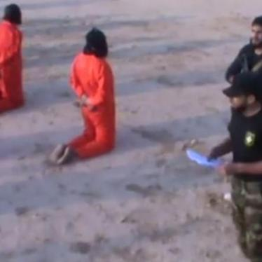 Libya: Videos Capture Summary Executions