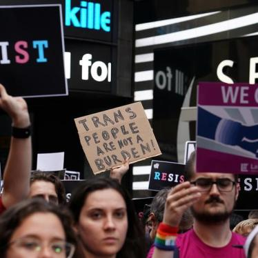 Trump's Attack on Transgender Troops Becomes US Policy