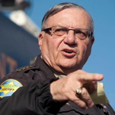 US: Trump Should Reject Arpaio Pardon