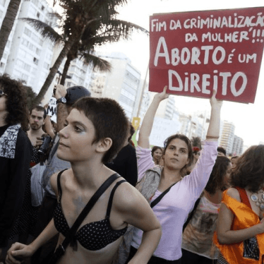 Brazil: Reject Abortion Ban