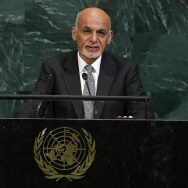 Afghan President Speaks Out for Human Rights at UN