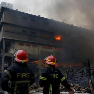 Bangladesh Textile Mill Burns, Yet Again