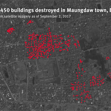 Birmanie : Des images satellite montrent la destruction de quartiers rohingyas