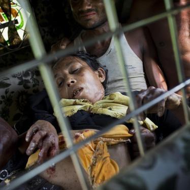 缅甸:地雷威胁罗兴亚逃亡者生命
