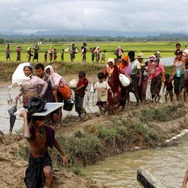 Watching Burma in Flames from Bangladesh