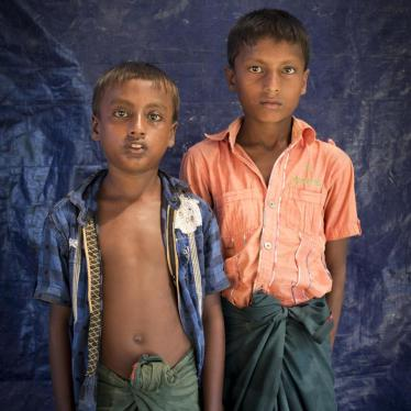 Rohingya Children Witness Crimes Against Humanity