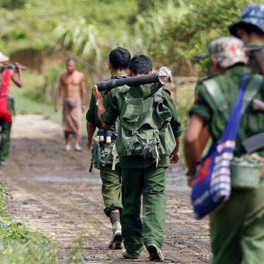 Burma: Targeted Sanctions, Arms Embargo Needed