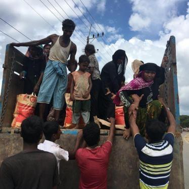图片报导:罗兴亚难民突破50万人