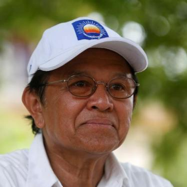 Cambodia: Drop Case Against Opposition Leader