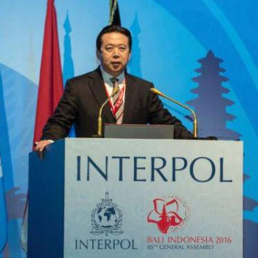 Interpol: Address China's 'Red Notice' Abuses
