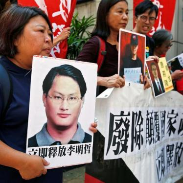 Taiwanese Activist Not Spared China's Wrath